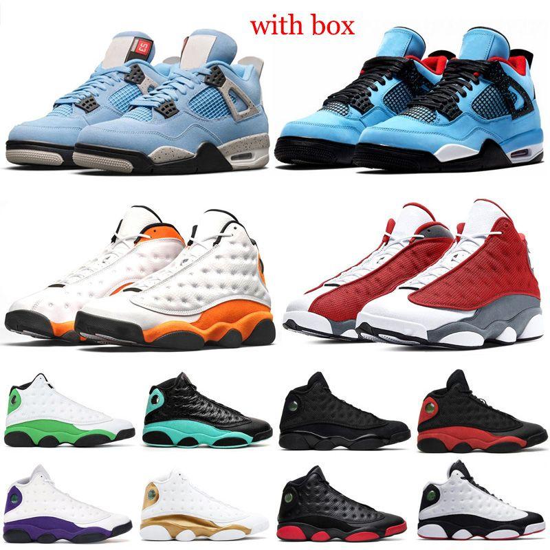 4s 13s Ayakkabı Kadınlar Flint Hiper Kraliyet 13s Luky YEŞİL Beyaz süzülmek Yeşil Pembe Bahçesi spor Sneakers mens