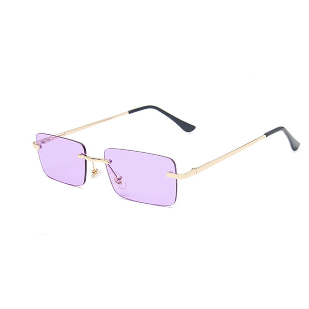 16050 feitos sob encomenda das mulheres de sunglass Moda Framels Sun Glass Rimls Retângulo Sunglass UV400 Metal Randdlfo CN; Zhe Tac