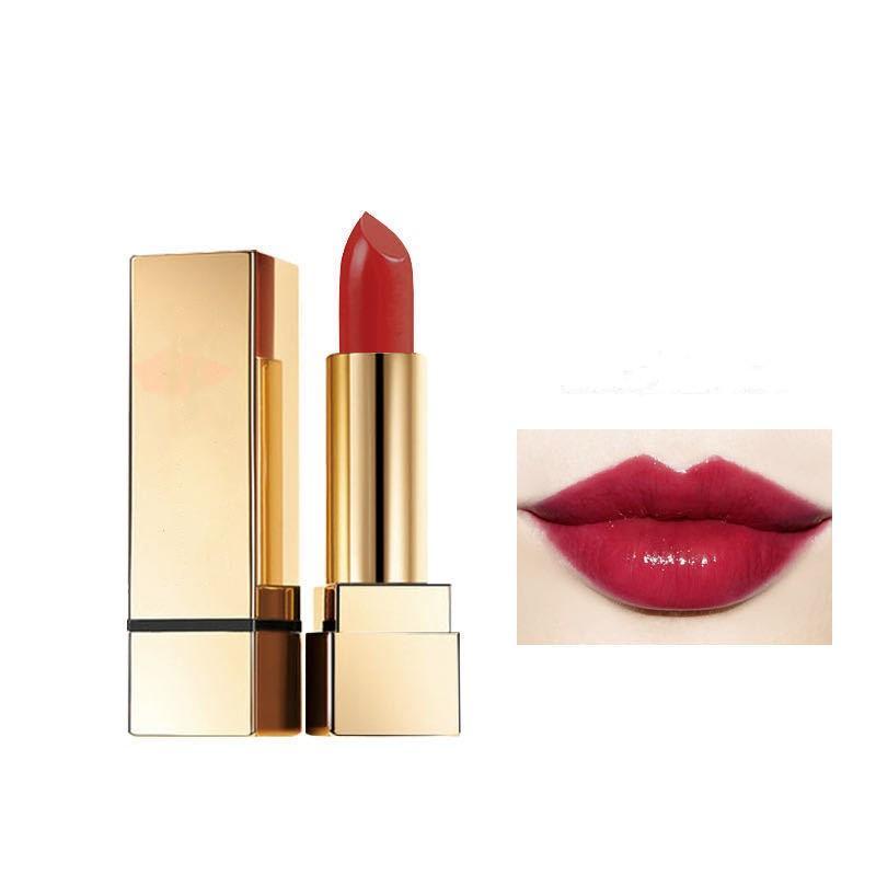 CALIDAD CALIENTE CALIDAD GENUINA Lápices labiales mate retro 24 colores con nombre en inglés 3.0G Pro Nude Lip Gloss Beauty Make Up Free Envío