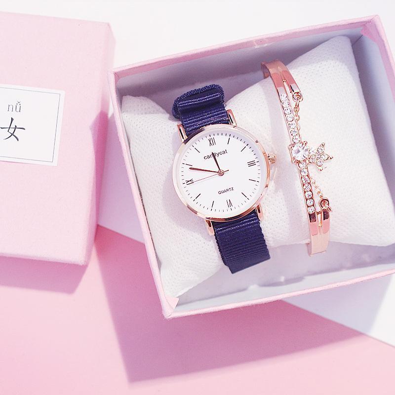 Armbanduhren Damenuhr Frauen Armband Minimalismus Stil Uhr Trends Für Mädchen Student 2021 Mode Uhren XFCS