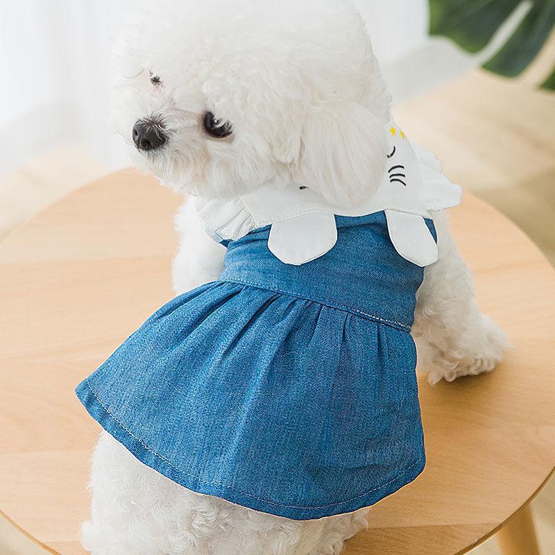 Sublimación reflector en blanco Nylon chaleco para perros mascotas ropa de malla transpirable ajustable camisa creativa camisa de verano TUXEDO Suministros para perros de mascotas Oído de conejo