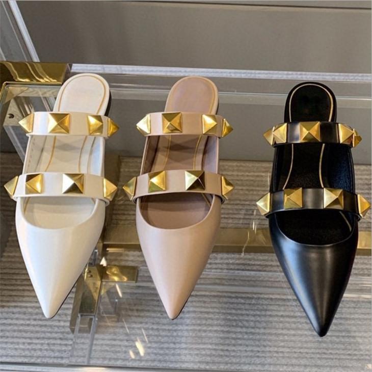Diseñador de pisos de sandalias femeninas crea sandalias casuales de la playa de verano de alta calidad