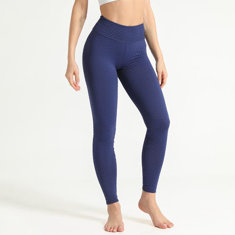 Leggings de elevación de cadera sin fisuras de cintura altas Empuje las legginas Deporte Mujer Fitness Gimnasio Gimnasio Pantalones de carrera Pantalones elásticos de la energía flaca # 4 mujeres