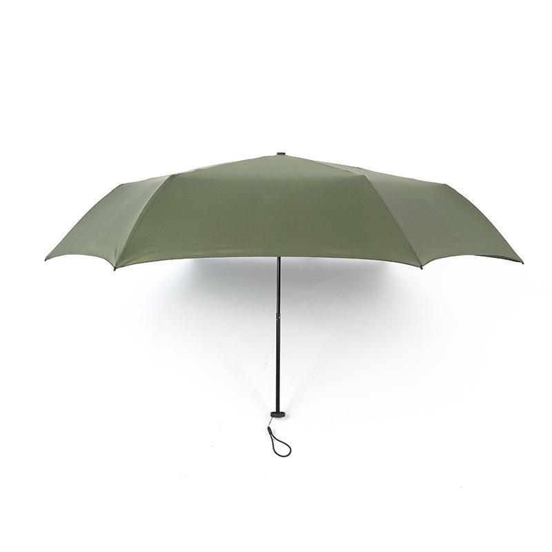 Umbrellas 140G Light Sun Umbrella Women UV Protection Pencil Rain Portable Travel Pocket Summer Parasol 6K Wind Proof