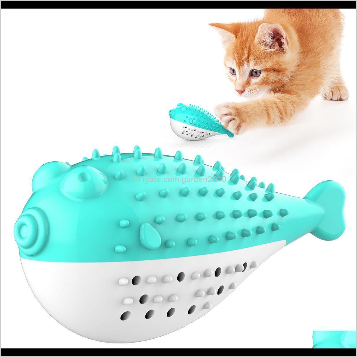 Dolphin Mint Odontoprisis Simulation Fish Catnip Clean Teethbrush Resistance To Bite Cat Toys Chews Dog Pet Supplies Ha291 3Pjdm Ayvsu