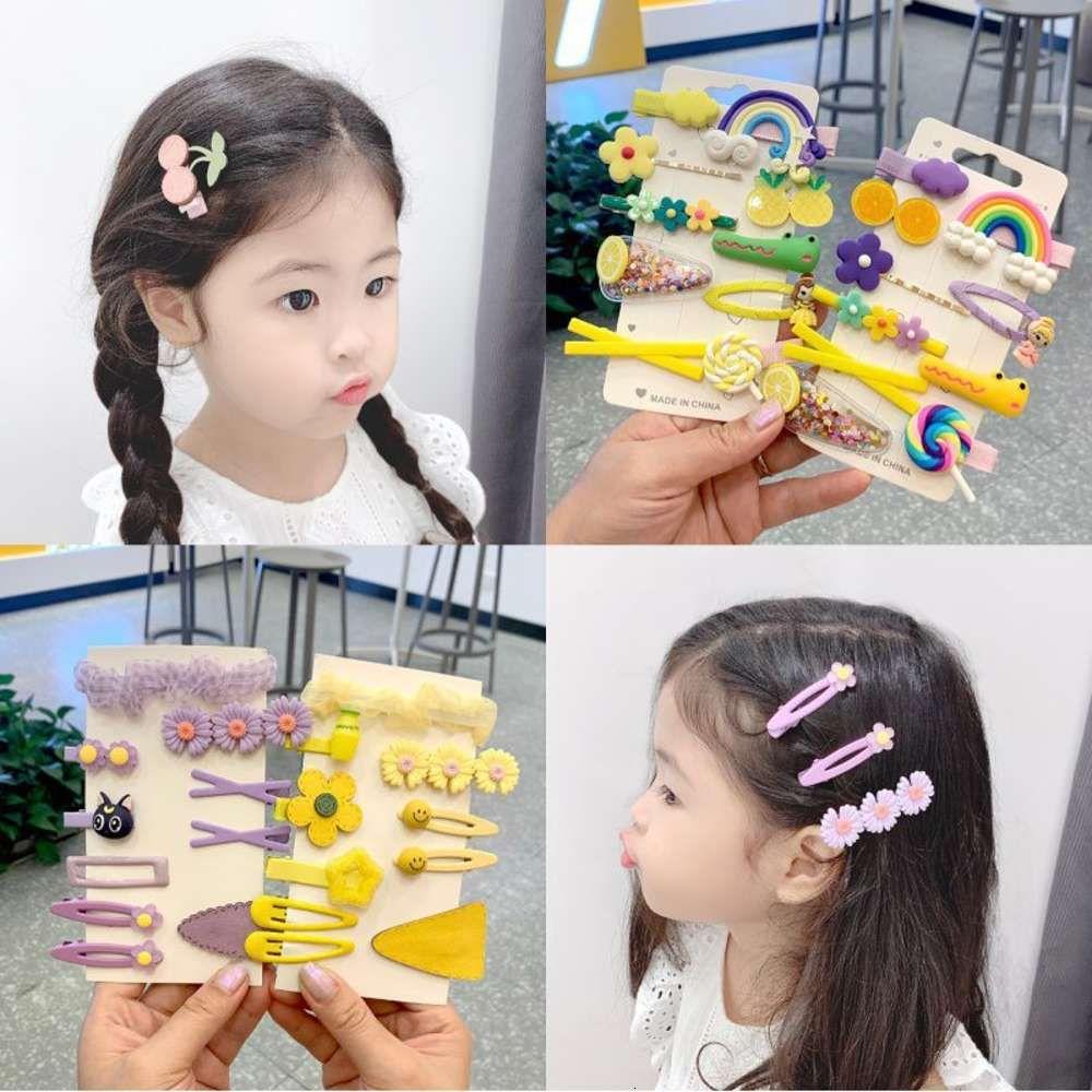Kinderhaarnadel, Mädchenhaarnadel, Babyhaarnadel, Koreanische Prinzessin Kopfschmuck, Mädchen Pony, Koreanische Version Clip
