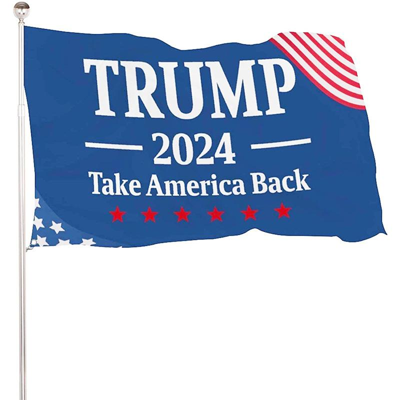 DHL fast delivery Trump Election 2024 Trump Keep Flag 90*150cm America Hanging Great Banners 3x5ft Digital Print Donald Trump Flag Biden