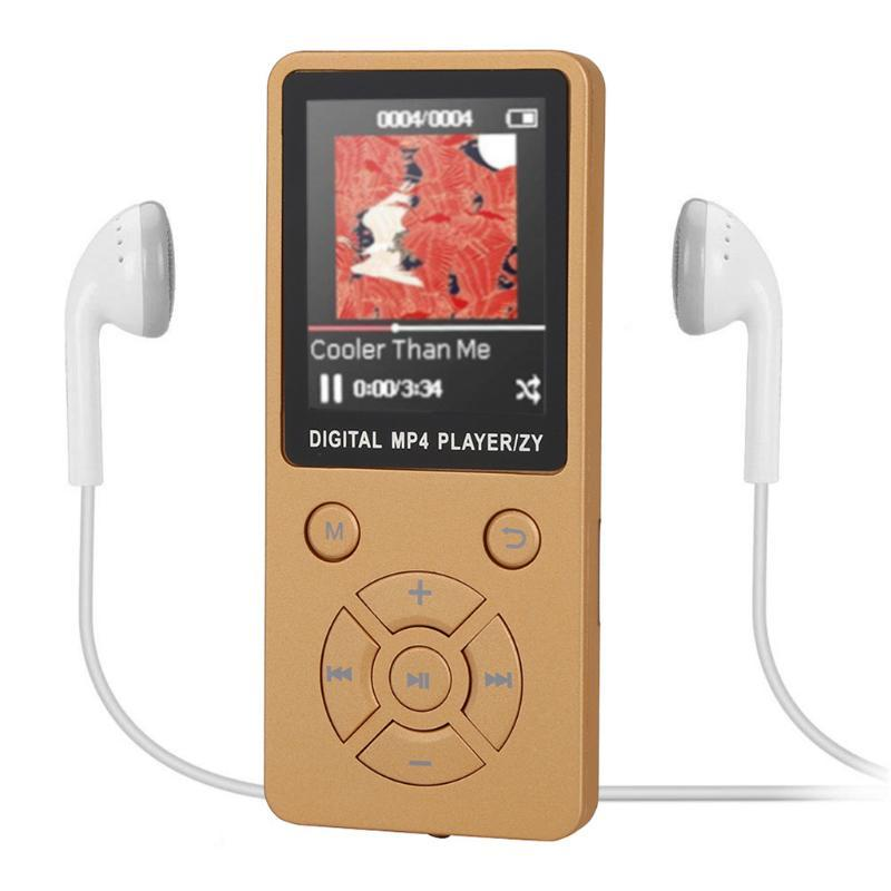 """& MP4 Players Portable Bluetooth MP3 Player Sports Walkman With 3.5mm Earphone 1.8"""" TFT Colour Screen Music Radio /FM/ Record"""