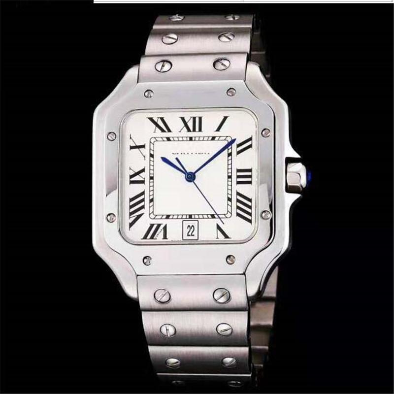 Armbanduhren Damenuhren verkaufen High-End-Quarz-Stahlband-Armbanduhr Nachtlicht wasserdichte Uhr Geschenke