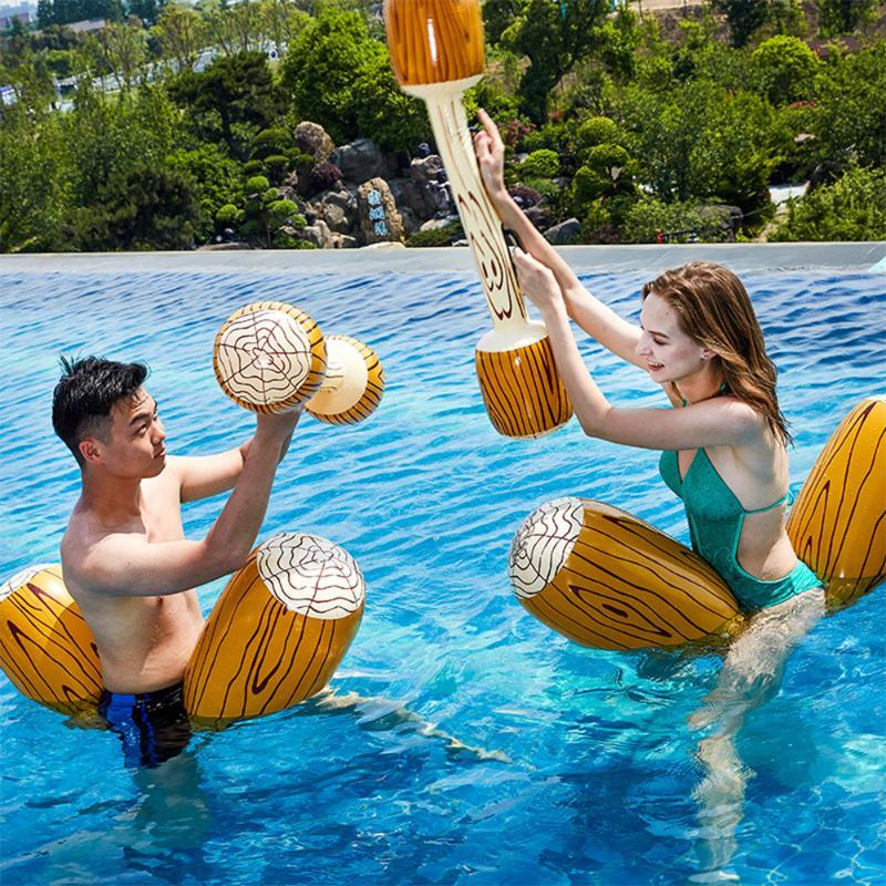 Pcs Swimming Pool Inflatable Float Toy Water Sports Game Party Play Fun Toys Inflated Raft Ride Kids Gift Floats & Tubes