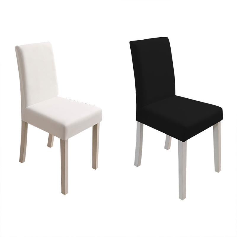 Cubiertas de silla elástica de Spandex Universal Cubierta de fundas de fundición Cubierta estirada Cubierta de la boda El banquete Decoración del hogar