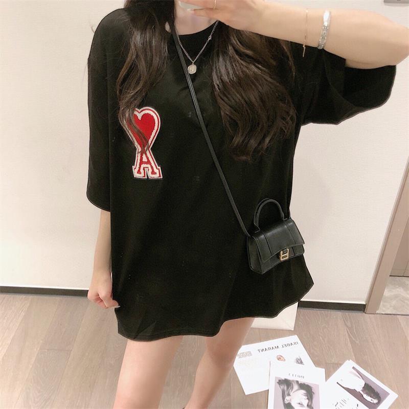 2021 Mulheres Mens Designers Camisetas Tshirts Moda Carta Animal Impressão de Manga Curta Senhora Tees Luxurys Womens Roupas Casuais S2