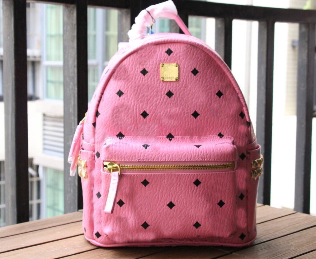 Натуральная кожа бренд мода панк заклепок рюкзак школьная сумка багажем могилы унисекс рюкзак студент сумки рюкзак путешествие уличные пакеты mochila назад