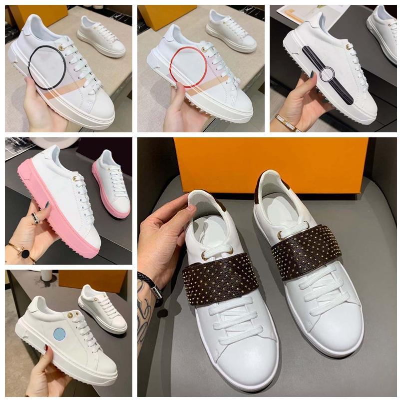 2021 Luxurys Designers sapatos designer de alta qualidade lona sapatos casuais primavera e outono moda confortável top obliques plataforma ao ar livre womens com caixa sapato008 150