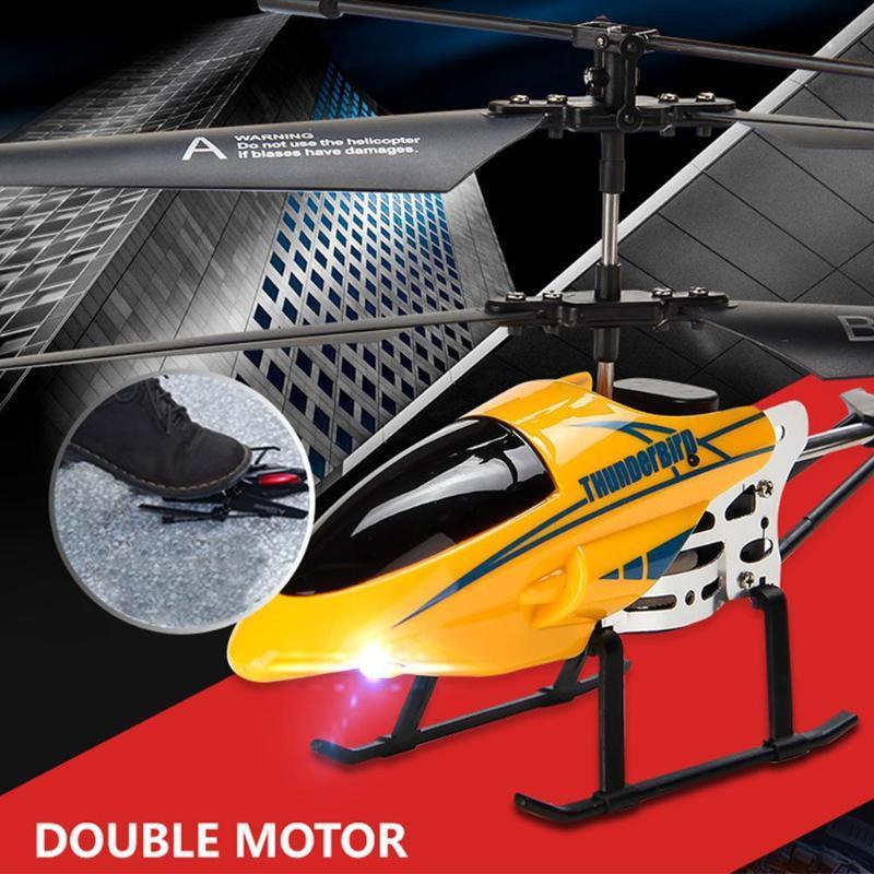 Legierung 3.5 Kanäle RC Hubschrauber Fallbeständige elektronische Ladefläche Modell Spielzeug für Kinder Drohnen
