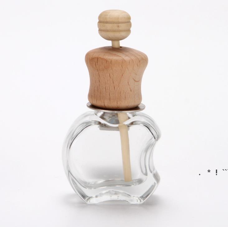 سيارة عطر زجاجة كليب للزيوت الأساسية الهواء المعطر العطر الهواء تنفيس منفذ زجاجات زجاجية فارغة EWA5105