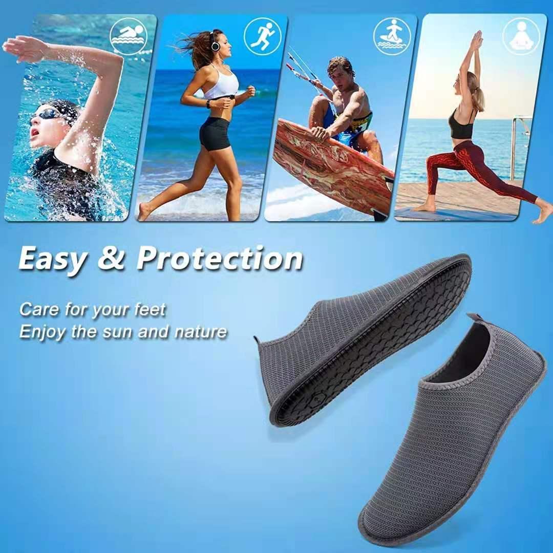 Women's portable shoes one pedal fit for sandbeach