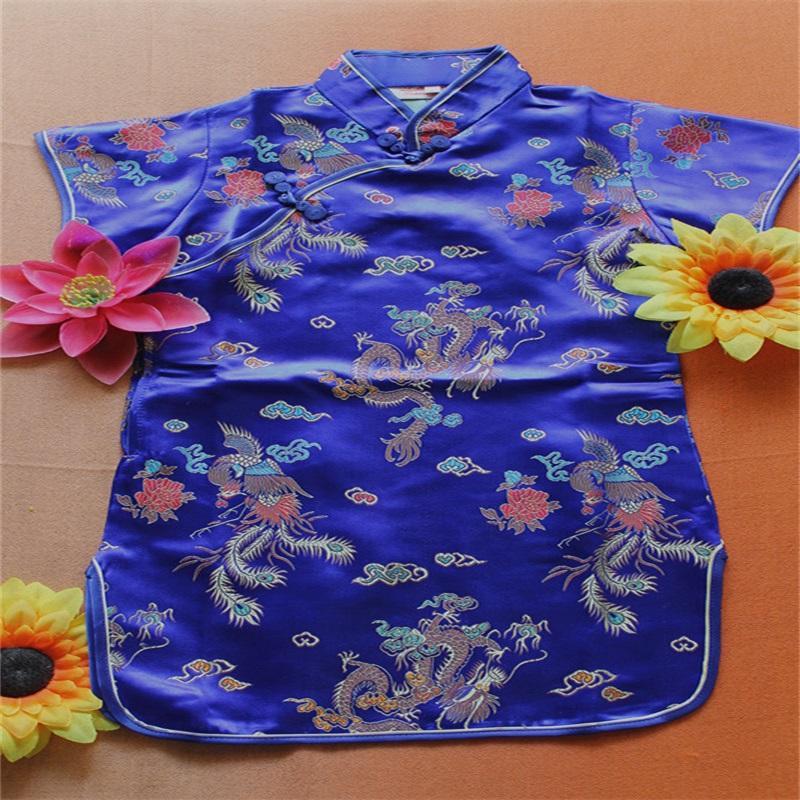 꽃 아기 qipao 소녀 드레스 Chi-Pao cheongsam 새해 선물 어린이 옷 아이 드레스 여자 의류 웨딩 공주 드레스 549 Y2