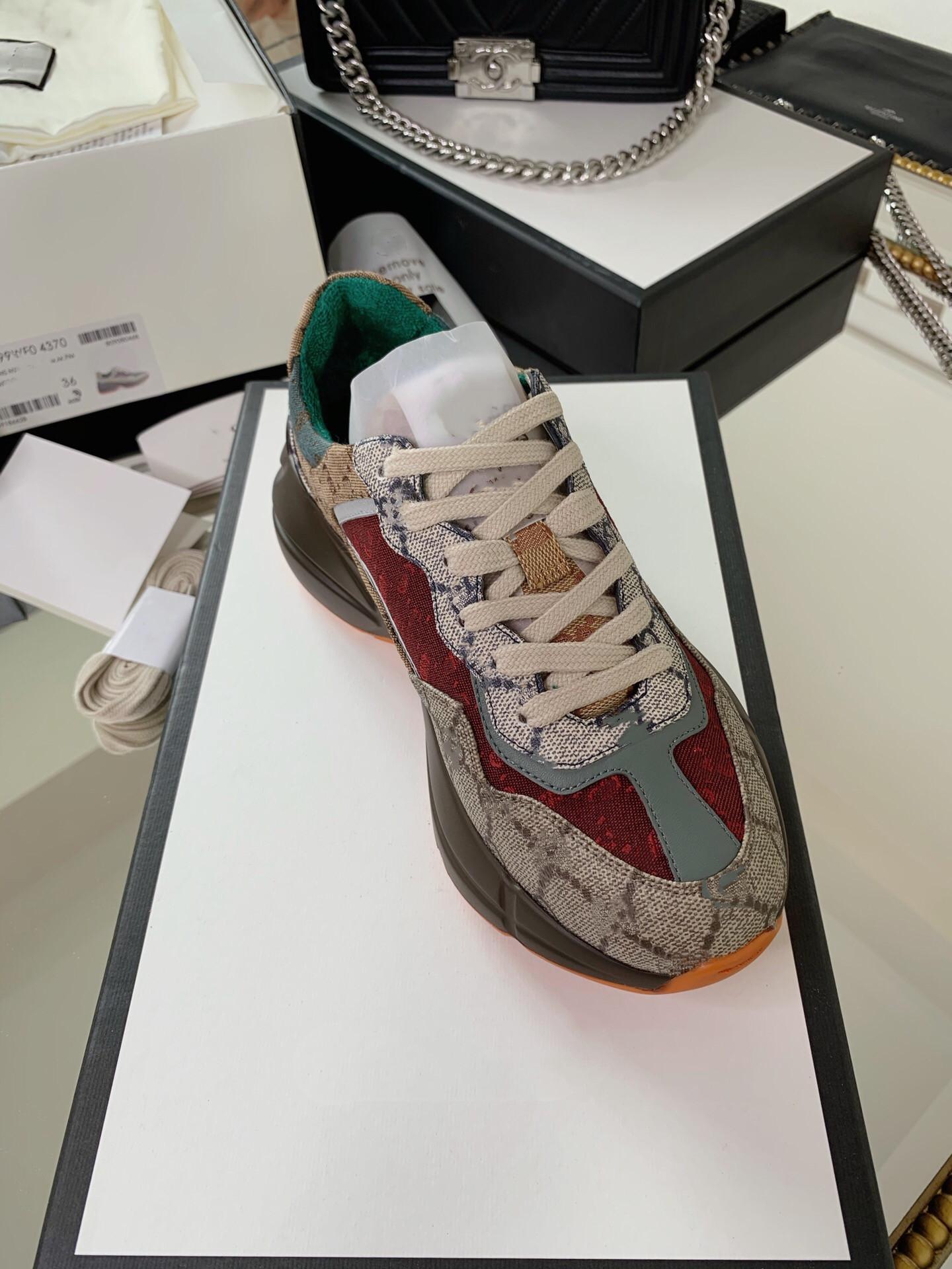 أحذية الأطفالGucci casual shoes  Flashtrek Luxe Mens and Womens أحذية رياضية مع نسيج عاكس. 2021 SS Collection أحدث الكاحانات الأصلية مطابقة التعبئة