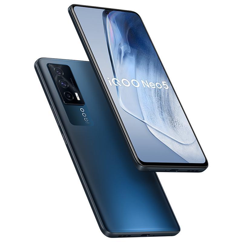 "Original vivo iqoo neo 5 5g Handy 8 GB RAM 128 GB 256GB ROM Snapdragon 870 48MP AR NFC 4400MAH Android 6.62 ""Full Screen Fingerabdruck ID FACE WACK SMART MELKONEN"