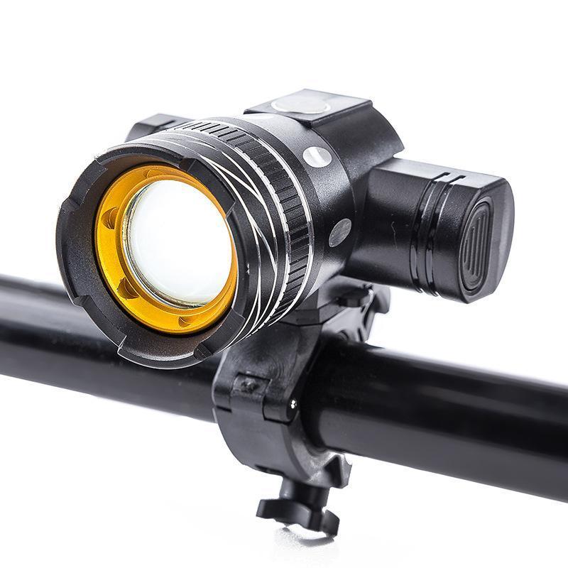 Bike Lights Bicycle Light USB Rechargeable Headlight Night Warning Waterproof Glare Mountain Riding Accessories