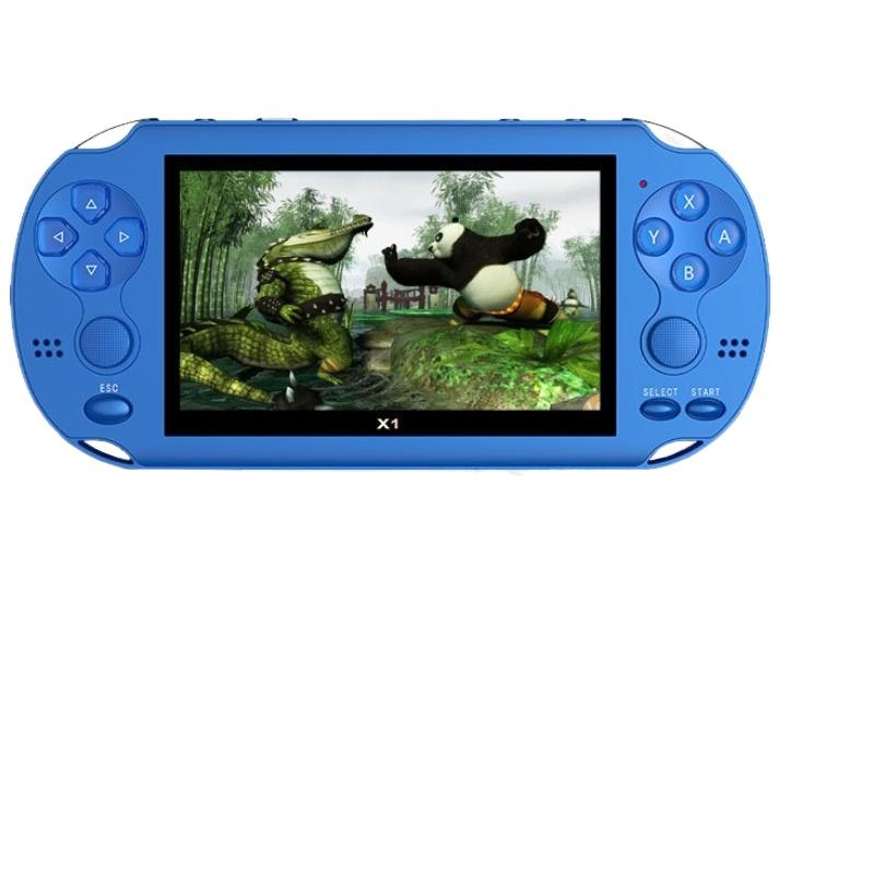 New 4.3'' Color Screen Built in 300 Games For PSP Games Handheld Game Player Camera Video E-book Portable Game console