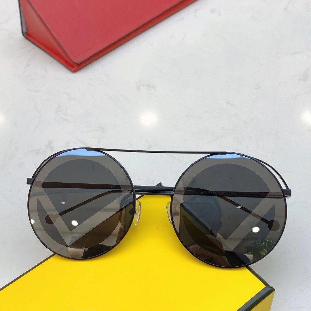 (code:OCTEU03) Top Qualité 0285 Lunettes de soleil pour hommes pour femmes hommes lunettes de soleil style de mode protège les yeux UV400 lentille