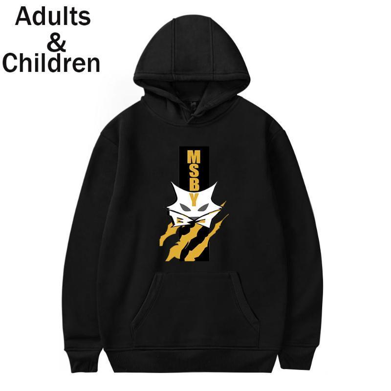 Anime Hoodie Haikyuu Camisola Homens Mulheres Crianças Outono Moda Lobos Msby Hip Hop Pullovers Pares Roupas Moletom