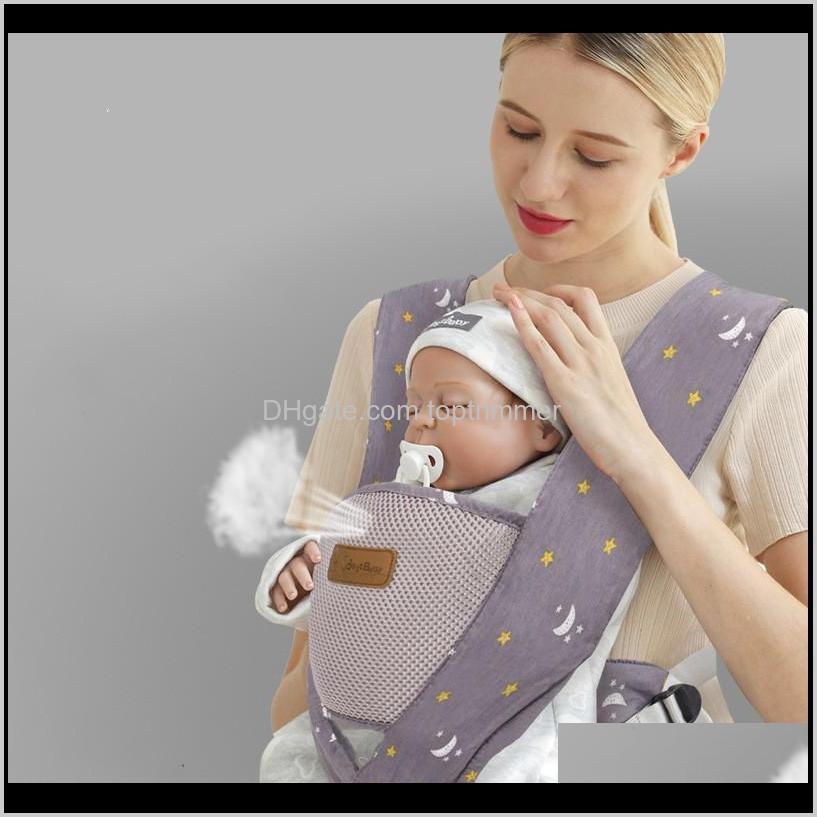 Transporteurs, Slings Sacs Sacs Safety Gear Bébé, Enfants Maternité Drop Drop Drop 2021 x Fonctions d'épaule Portable Bracelet respirante bébé enfant SL