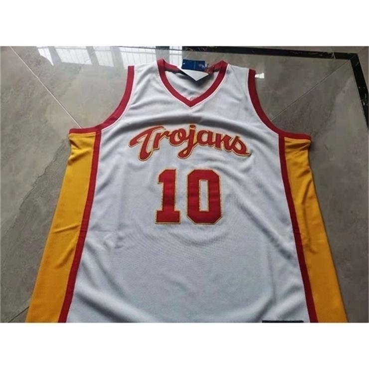 3740Rare jersey de basquete homens juventude mulheres vintage usc trojans derozan tamanho s-5xl personalizado qualquer nome ou número