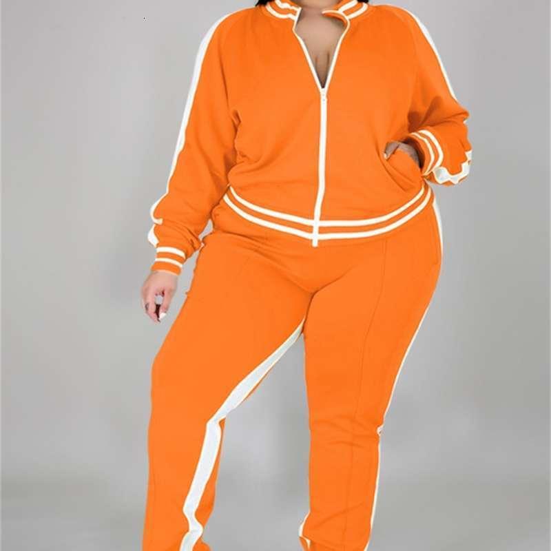 Kadın Eşofman Sonbahar / Kış Büyük Boy Spor Katı Rahat Spor Suit