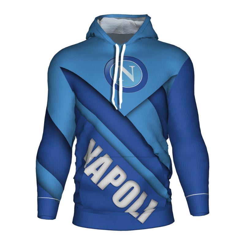 Napoli Soccer Hoodie Tracksuit Club Jersey Training Ssc Hoody 3d Sweatshirt Hoodies High Quality Tcmas
