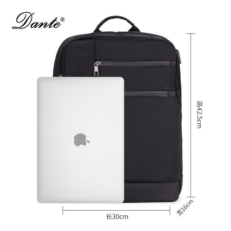 Mochila Men's Schoolbag Ocio USB recargable mochila de alta capacidad Bolsa de computadora Moda