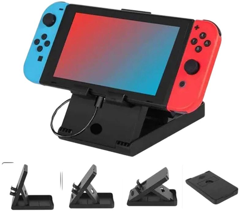 16 in 1 Accessories Kits for Switch game protection package Charging Stand/Carrying Case/Screen Protector/Silicone Protective Cases