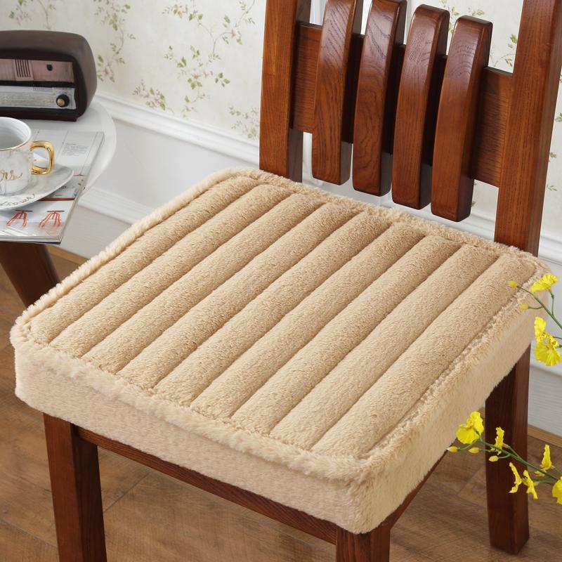 Подушка / декоративная подушка высокое качество задней подушки для дома украшения для дома столовой стул стул нескользящей подушки сиденья диван 50 * 50см b