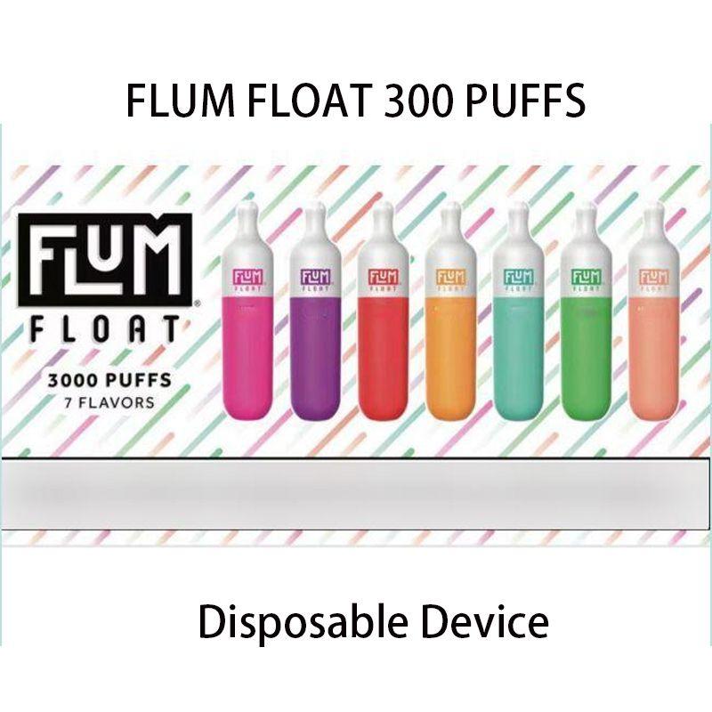 Flum Float Einweg-Vape-Stift-Gerät Elektronische Zigaretten 500mAh-Batterie 8.0ml-Pods 3000 Puffs Starter-Kit-Dämpfe Großhandel