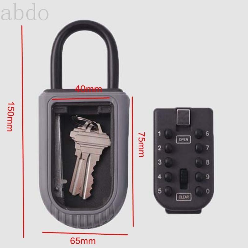 Realtor настенный ключ ключ блокировки блокировки с 10-значной кнопкой комбинацию кнопки - устойчив к в помещении или на открытом воздухе дверь умный
