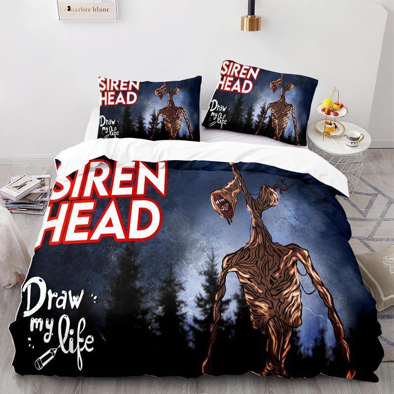 Bedding Sets Siren Head Set Single Twin Full Queen King Size Bed Children's Kid Bedroom Duvetcover 3D Print