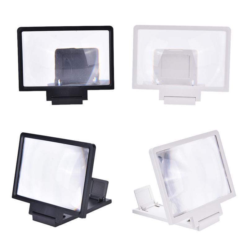 Magnifier da tela do telefone móvel 3D dobrável dobrável alargado do expander suportes