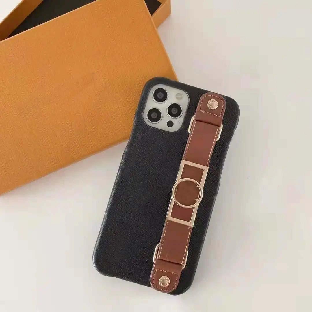 عصري مصمم iPhone 12 حالة الهاتف المحمول و هدية مربع iPhone / XS غطاء واقي XS Max 7/8 Plus
