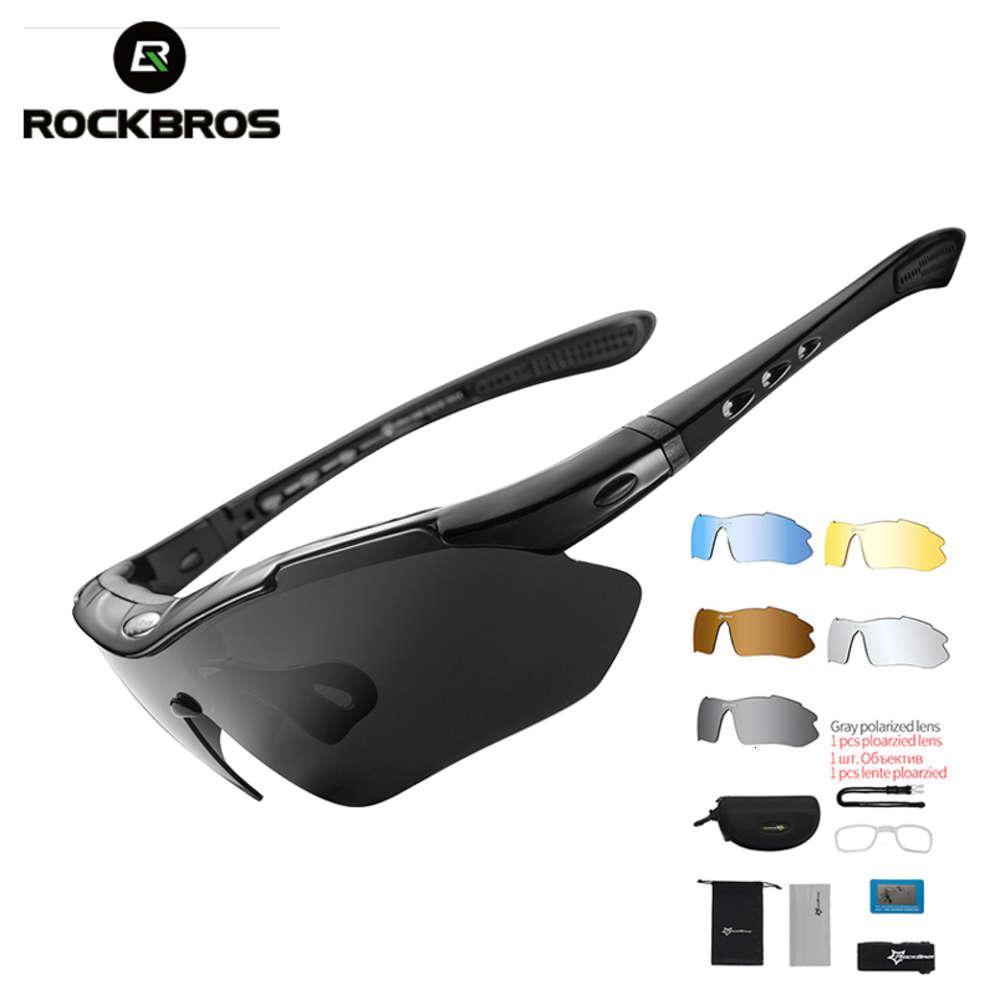 Rockbros polarisierte sport männer sonnenbrille straße radfahren brille mountainbike fahrrad reiten schutzbrille eyewear 5 linsen