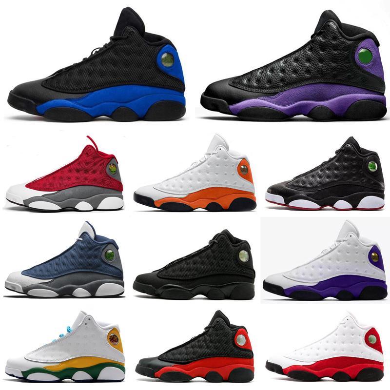 2021 og Hyper Royal Jumpman 13 13S عاكس النساء الرجال أحذية كرة السلة الأبيض رجل مدرب الرياضة رياضية أحذية رياضية الحجم 36-47