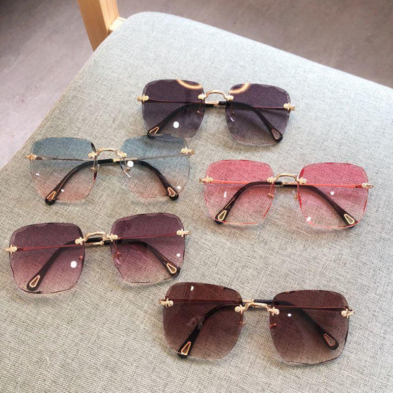 Occhiali da sole in lega di lusso trims oversized casuale quadrato trasparente telaio per obiettivo maschile designer di marca progettista inchiostri per wo