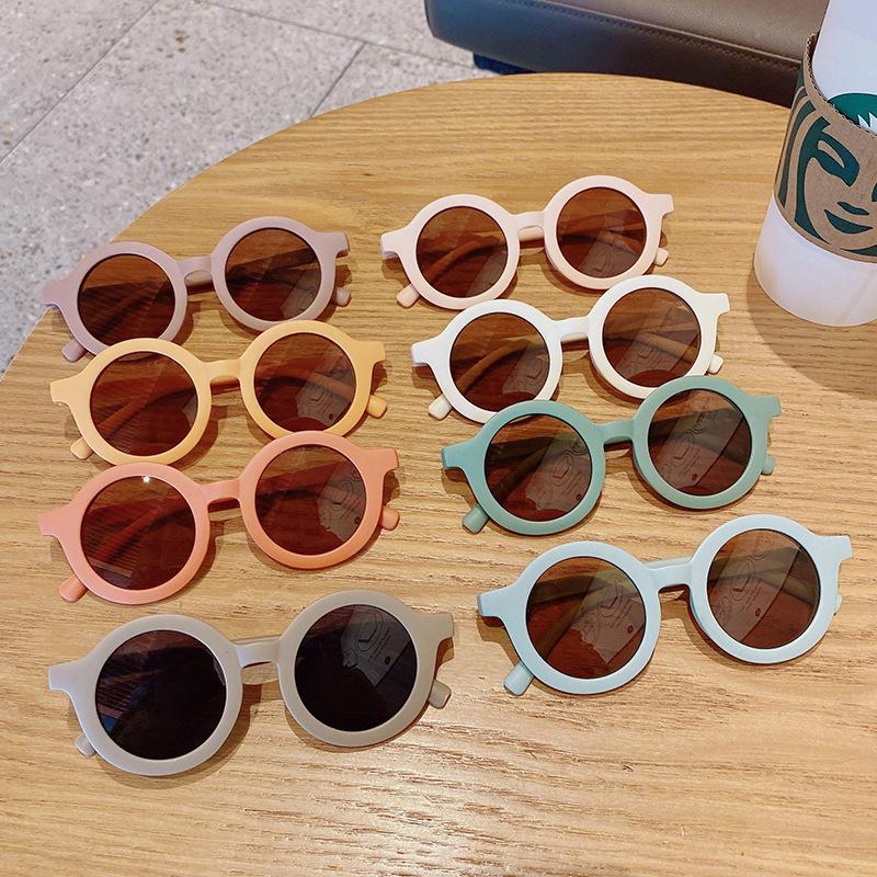 Gafas para niños Designer de la marca Gafas de sol polarizadas Gafas de sol Childrens Anti-UV Bebé Sombreado de sol Sombreado Lentes Girl Boy Glasses Zyy740 132