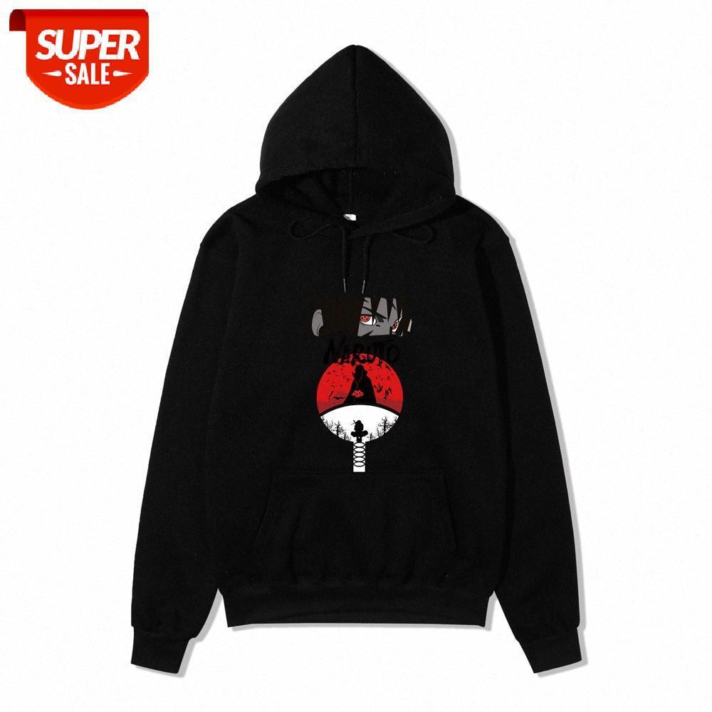 Anime japonês Naruto camisola homens e mulheres primavera outono jaqueta de hoodie de lã # 4n47