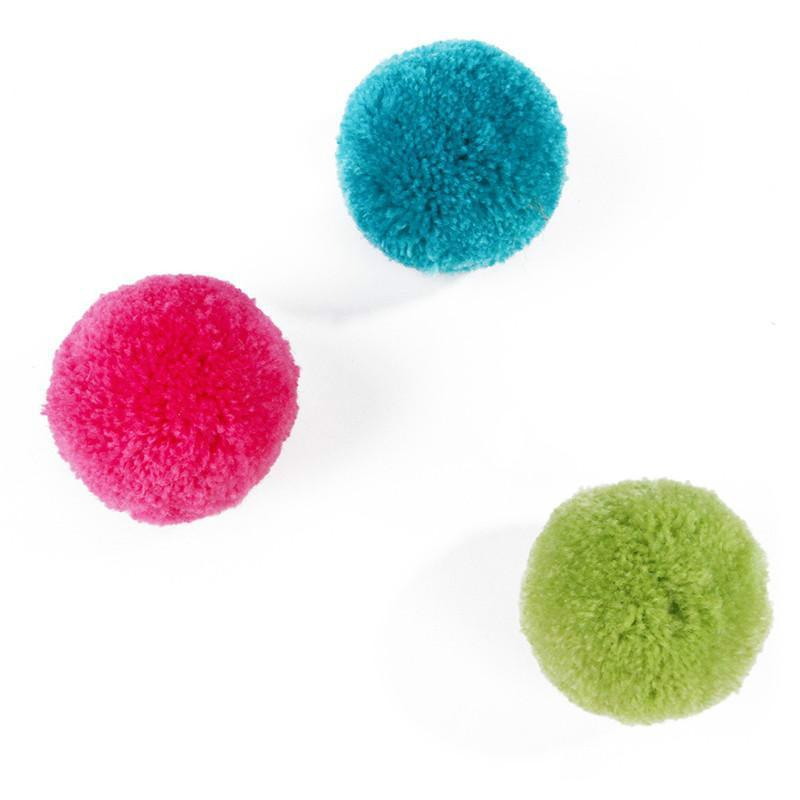 Renkli Haddeleme Topu İplik Oyuncak Interaktif Kediler Komik Kitten Topları Pet Malzemeleri KKB6989