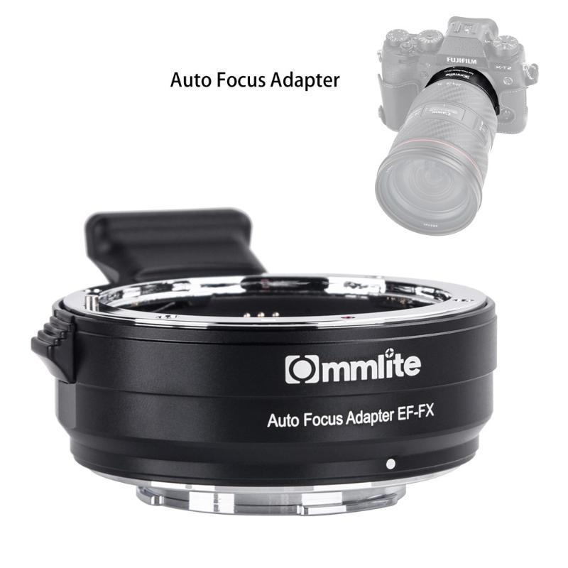 Lens Adapters & Mounts Commlite CM-EF-FX Electronic AF Mount Adapter For EF EF-S To FX-Mount Camera X-T3 X-T2 X-H1 XT20