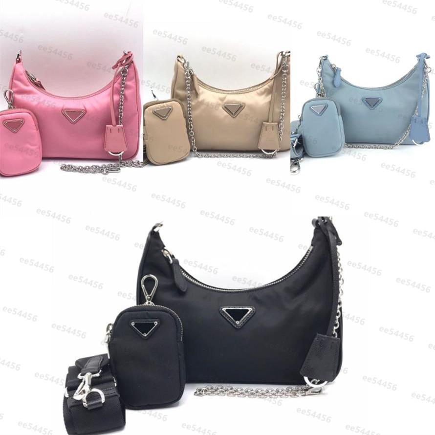Top Quality Bags Homens Mulheres 3 PCs em um tote Nylon couro embreagem bolsa de ombro luxurys designers bolsas de ombro grátis bolsa de bolsa crossbody bolsa e carteira
