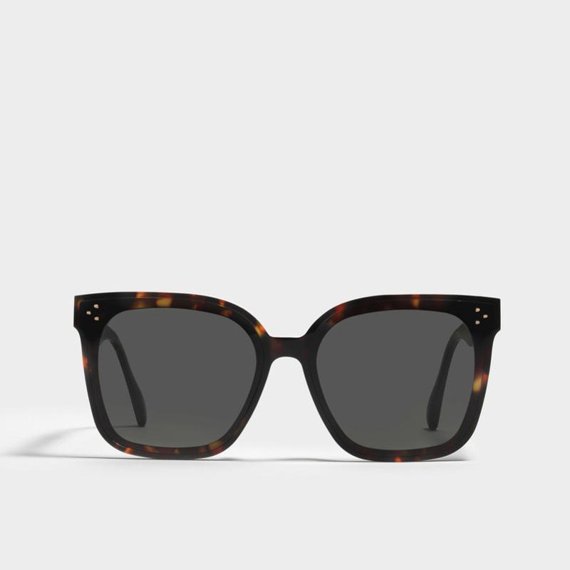 68% de rabais 2021 Nouveau Style Douce Flatba Designer Son Myma Solo Lang lunettes de soleil Vintage Femelle Oculos Lunettes de soleil pour hommes Femmes F0YB