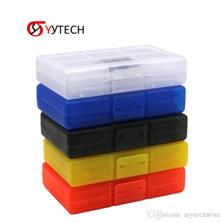 Syytech 24 فتحة بطاقة في 1 تخزين مربع + 2 tf بطاقات حامل لنينتندو التبديل لعبة الملحقات